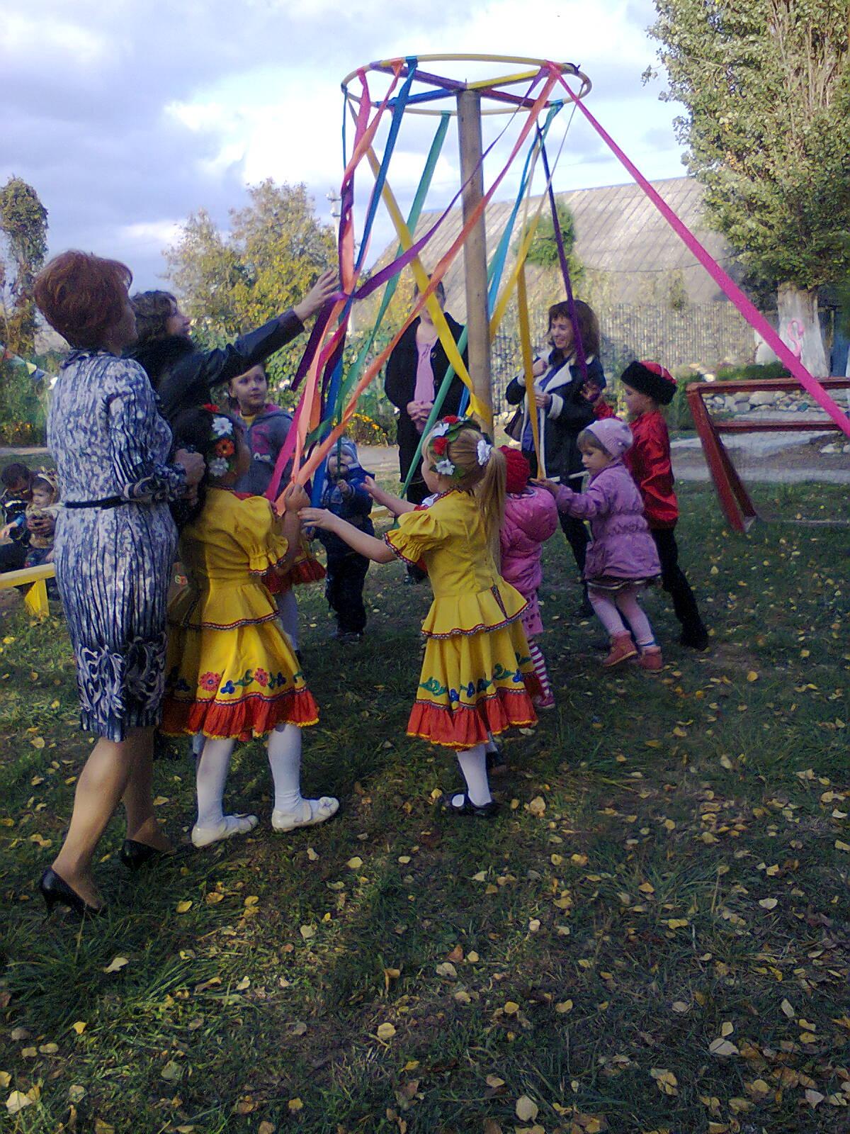 Осенний праздник «В гости к народу»