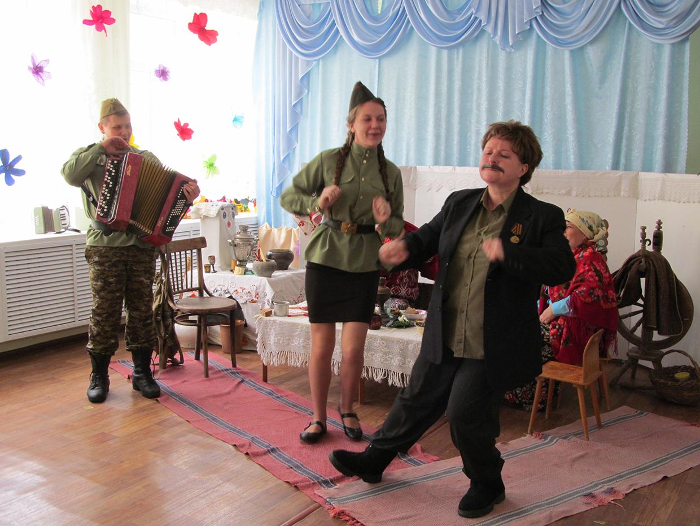 Театрализованное действие для детей старшего дошкольного возраста «Встреча после Победы»