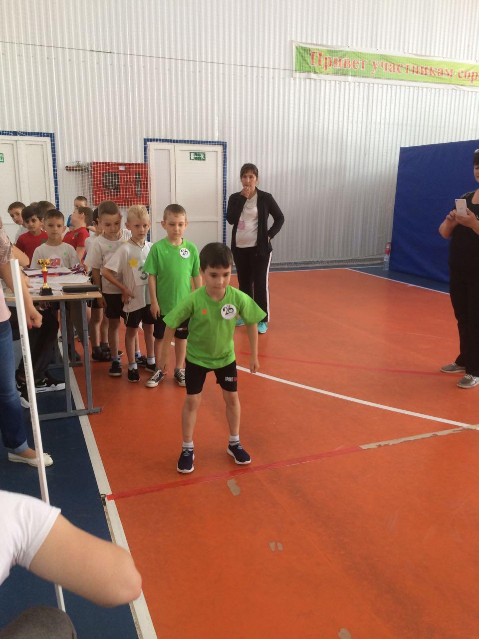 Победа в спартакиаде по лёгкой атлетике